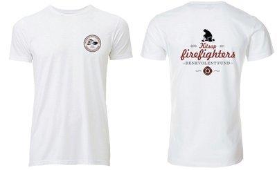 B-Fund Kneeling FF T-Shirt, White