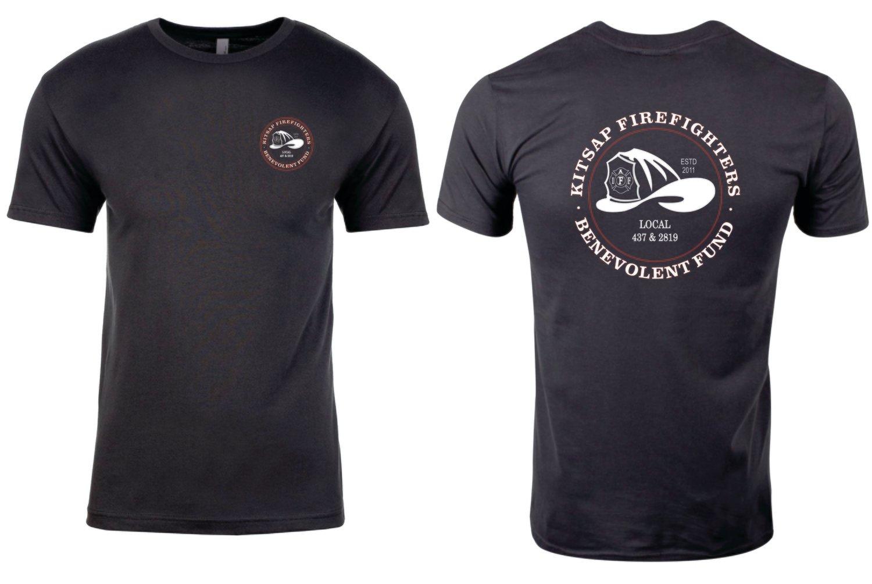 B-Fund Logo T-Shirt, Dark Gray