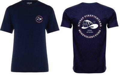 B-Fund Logo T-Shirt, Navy