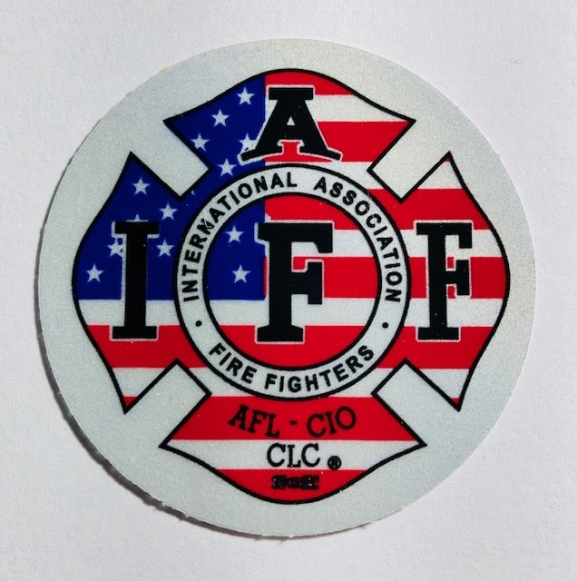 Helmet Sticker IAFF USA