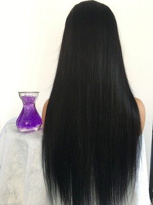 Popular Closure Wig Straight 5*5 Closure Wig with Band
