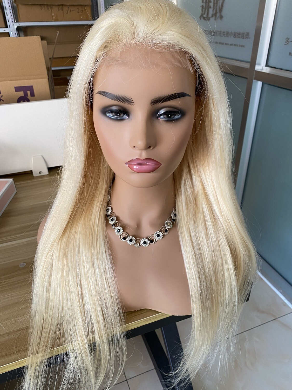 613 HD Lace 4 x 4 Closure Wig Straight Human Raw Hair