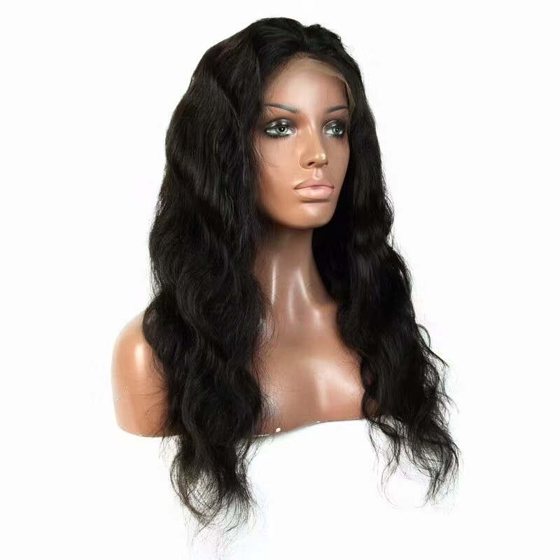 Body Wave Full Lace Frontal 13*6 Wig Human Hair with Baby Hair Can be dyed
