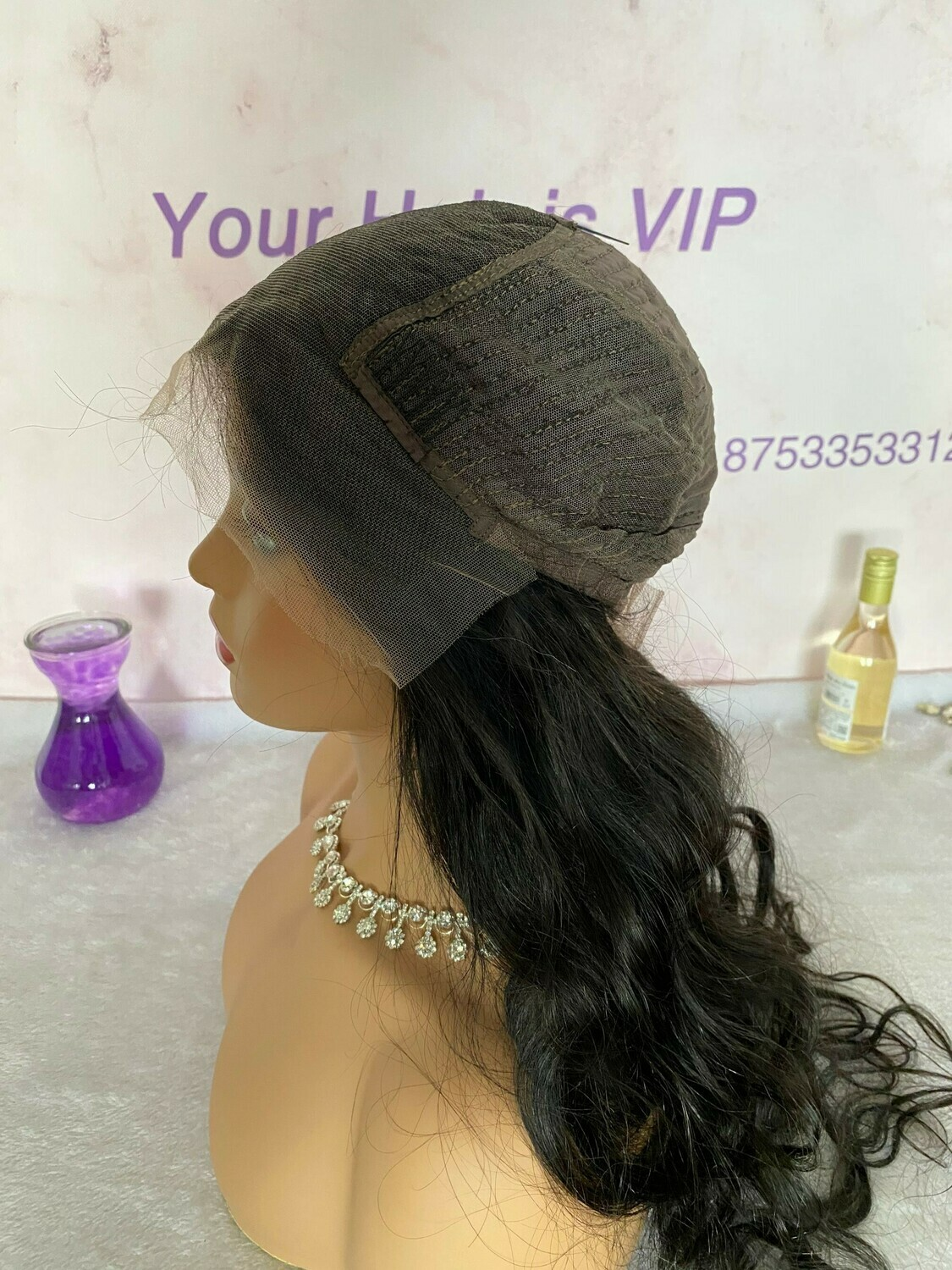 Stock 13x6 HD Lace Frontal Wig Body Wave 150%