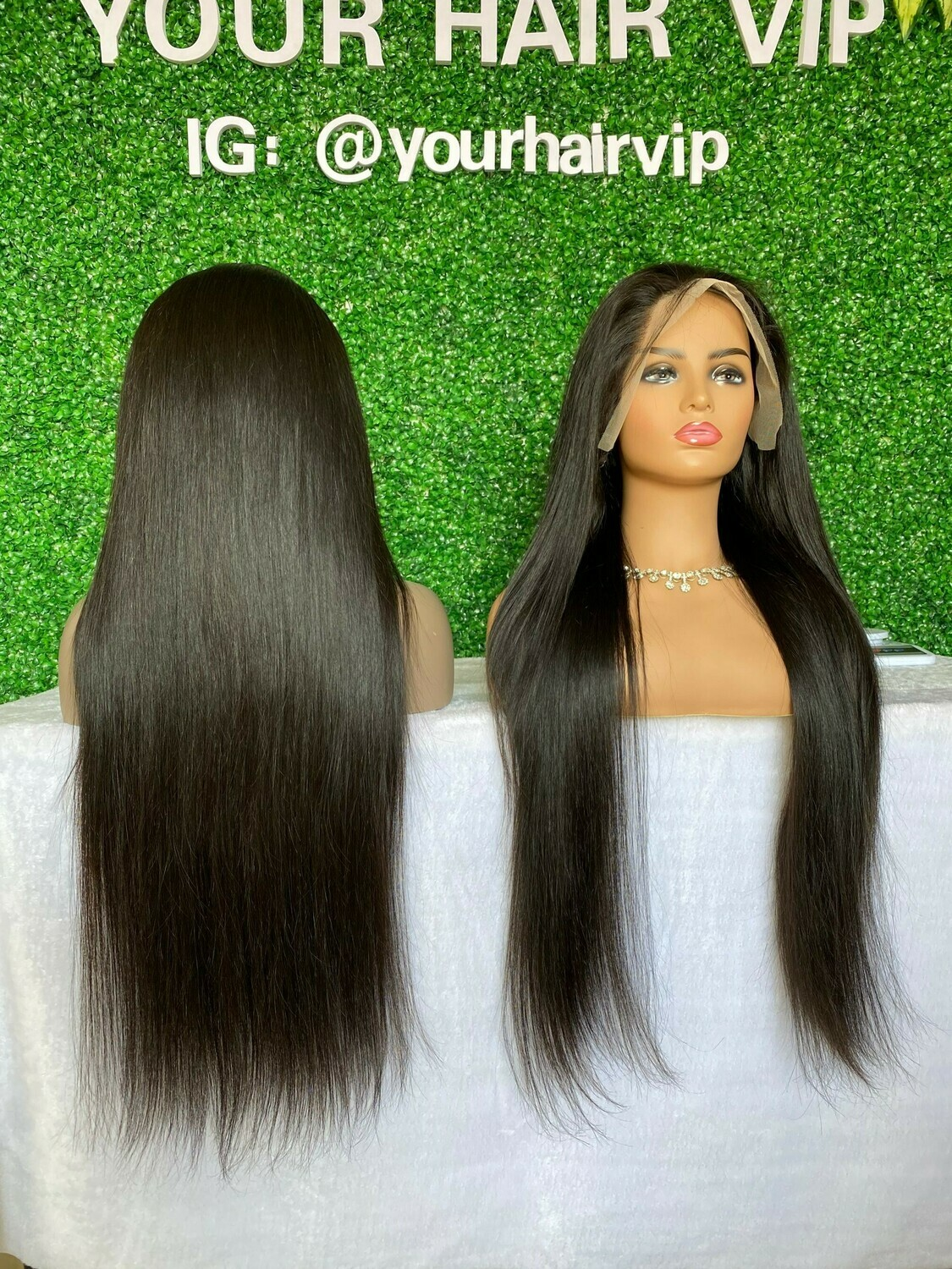 Custom Full 13 x 4 Transparent Lace Frontal Wig Straight/Body Wave
