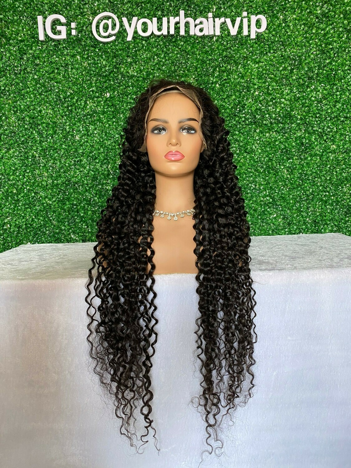 Custom Full 13 x 4 HD Lace Frontal Wig Loose Curly