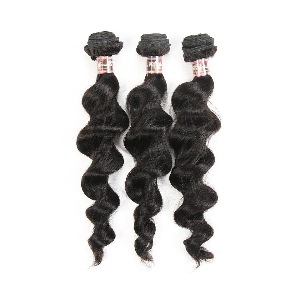 3PCS Mink Loose Body Wave Human Virgin Hair Bundles