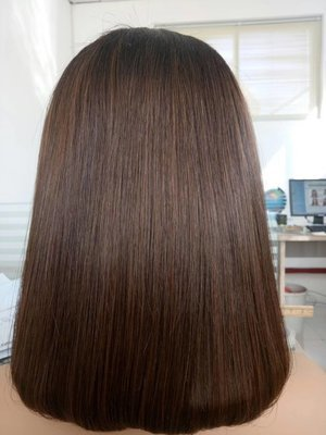 Bob Lace Wigs Virgin Human Hair 150% Density