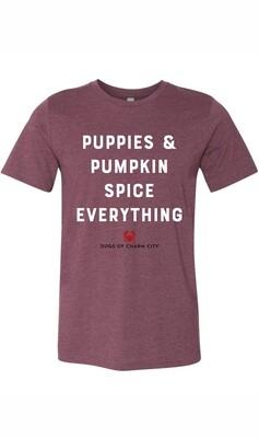 Puppies & Pumpkin Spice Everything Tee