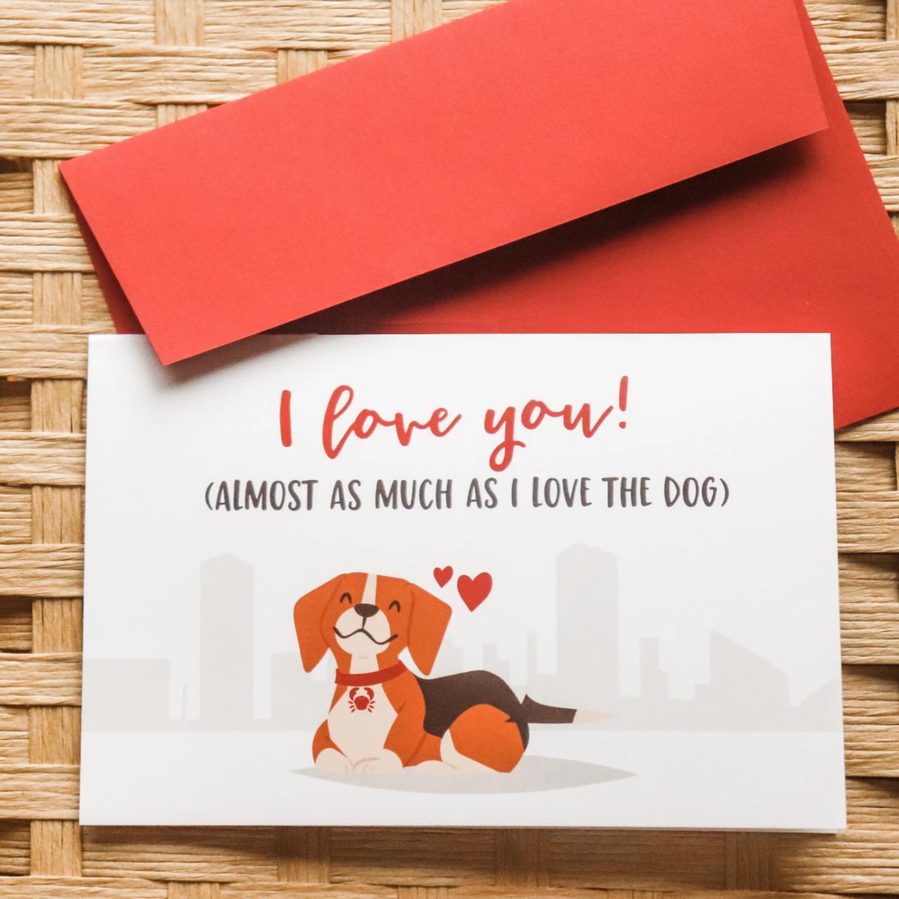 """I Love You!"" Greeting Card"