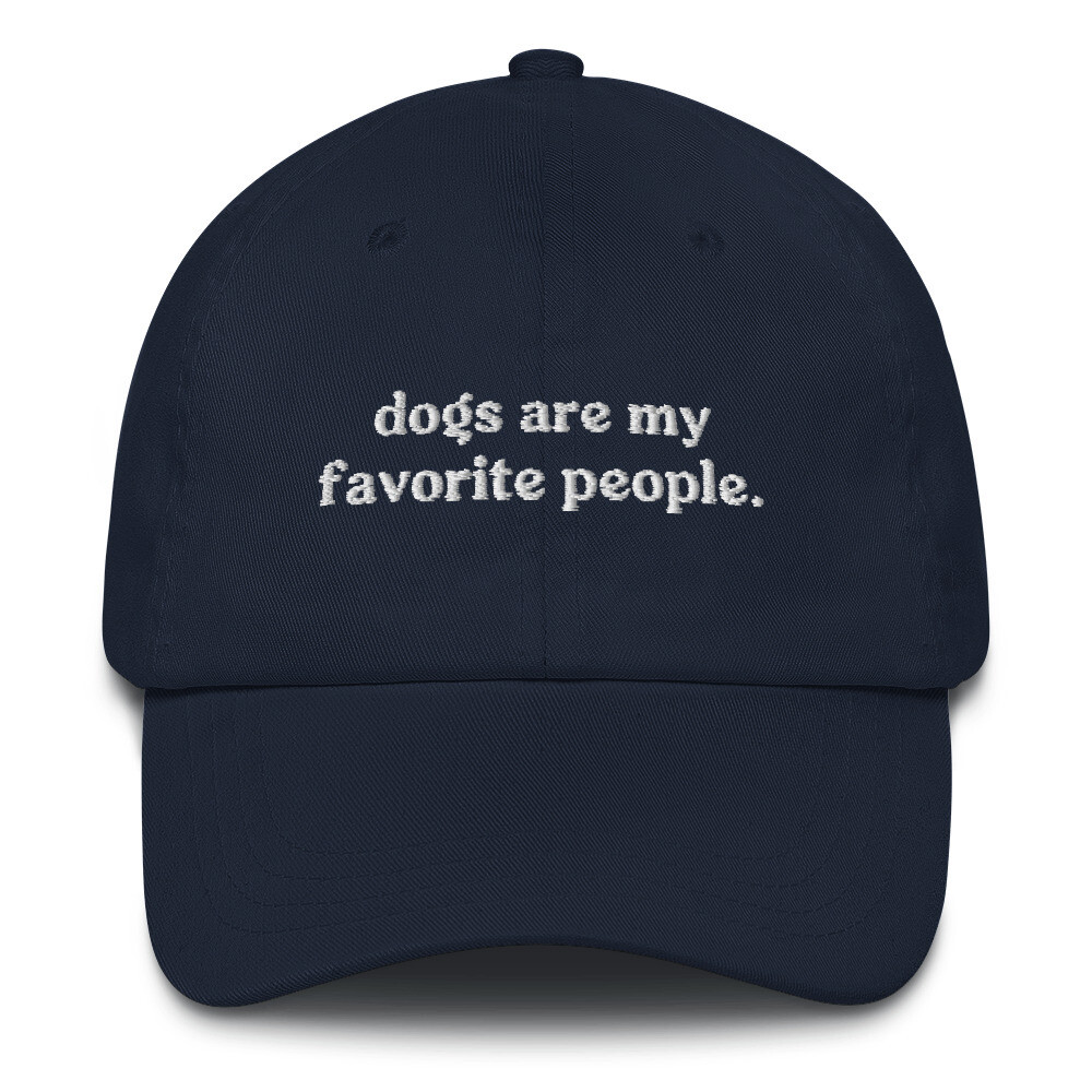 Dogs Are My Favorite People Hat