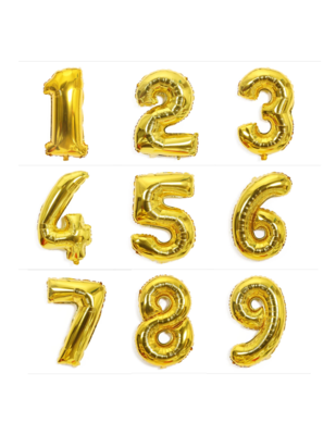 """42"""" Jumbo Balloon Number"""