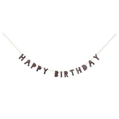 Mini Happy Birthday Banner