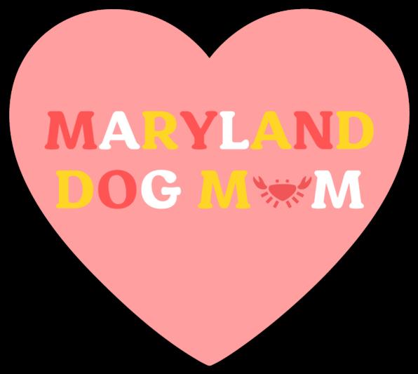 Maryland Dog Mom Sticker