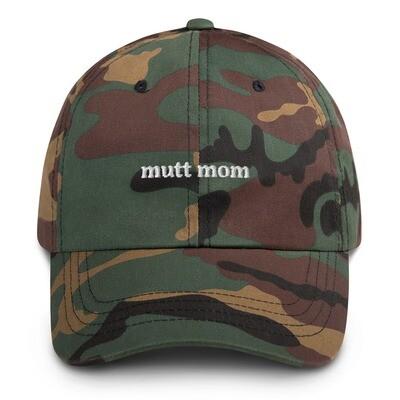 Mutt Mom Dog Mom Hat