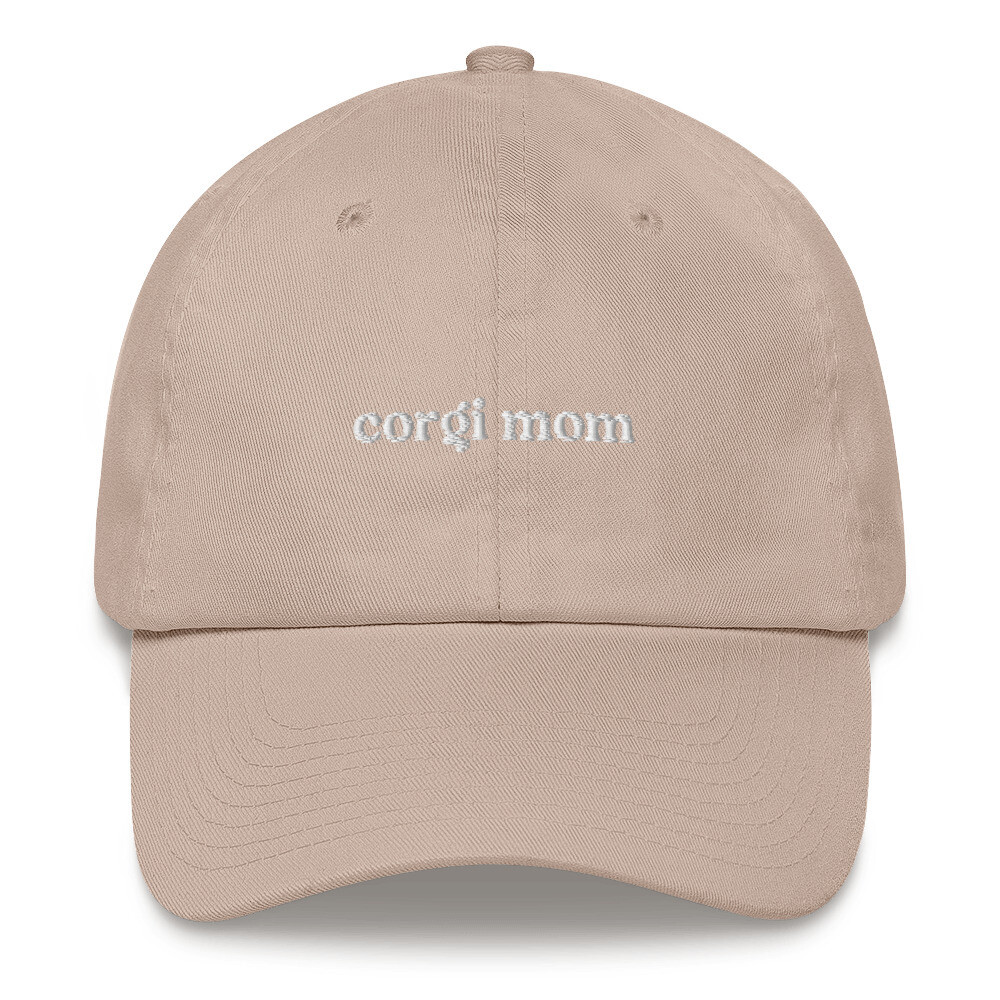 Corgi Mom Dog Mom Hat