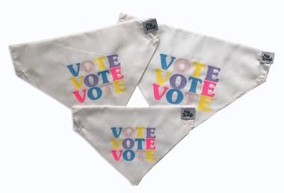 Vote Vote Vote Dog Bandana