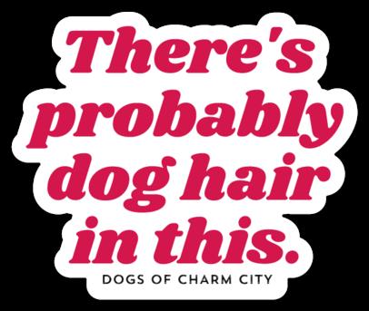 Dog Hair Sticker