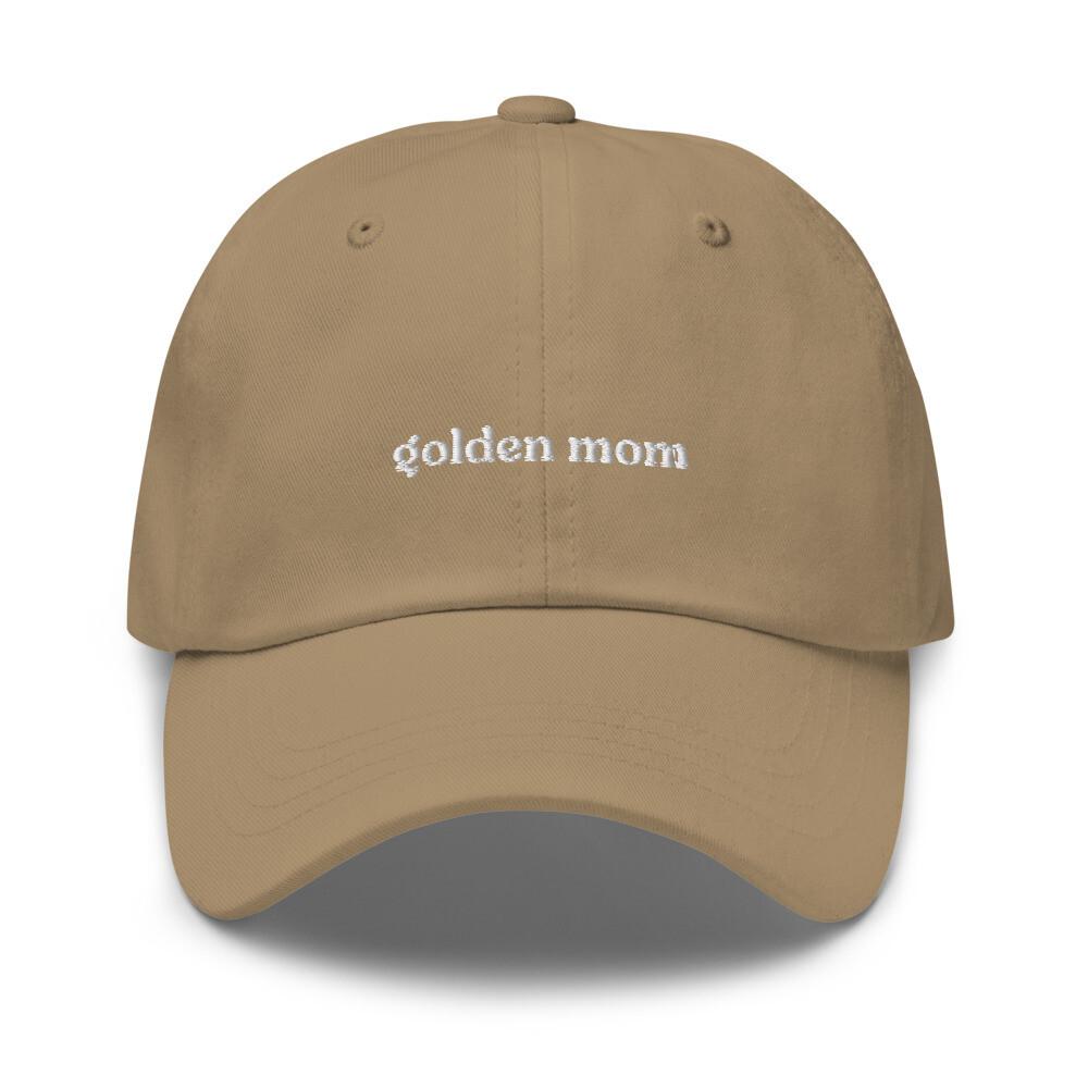Golden Mom Dog Mom Hat