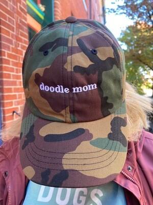 Doodle Mom Camo Dog Mom Hat