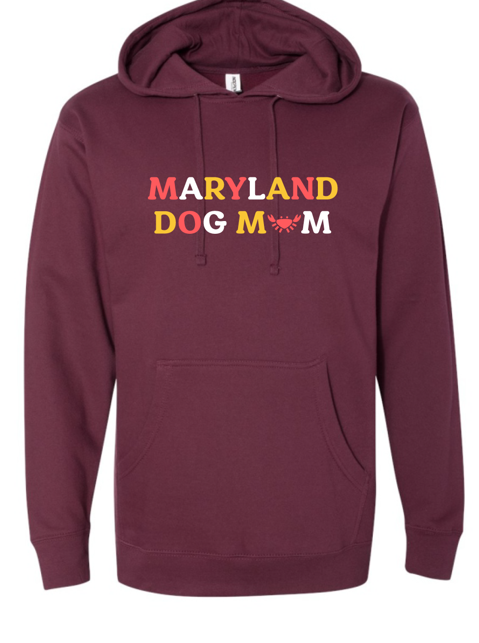 Maryland Dog Mom Hoodie