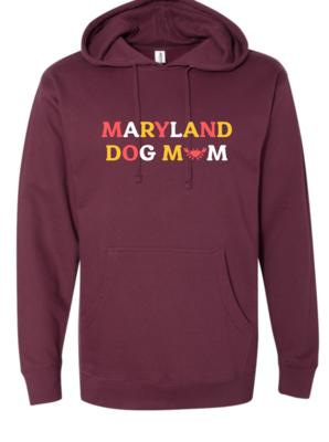 Maryland Dog Mom Hoodie