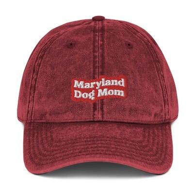 Maryland Dog Mom Hat