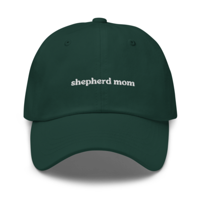 Shepherd Dog Mom Hat