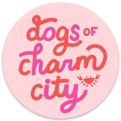Dogs of Charm City Sticker