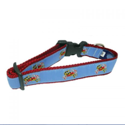 Maryland Crab Dog Collar