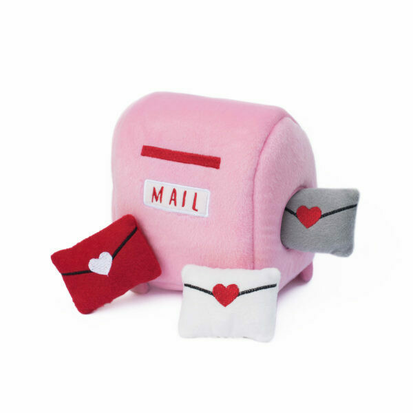 Mailbox and Love Letters Dog Toy