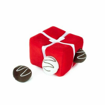 Box of Chocolates Dog Toy