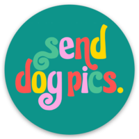 Send Dog Pics Sticker