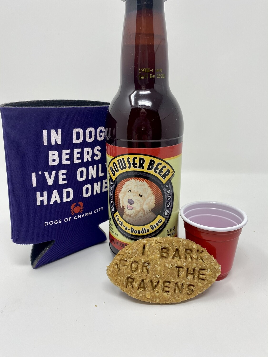 Baltimore Ravens Mini Tailgate Bundle for Dogs