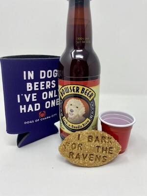 Baltimore Ravens Mini Tailgate Bundle for Dogs