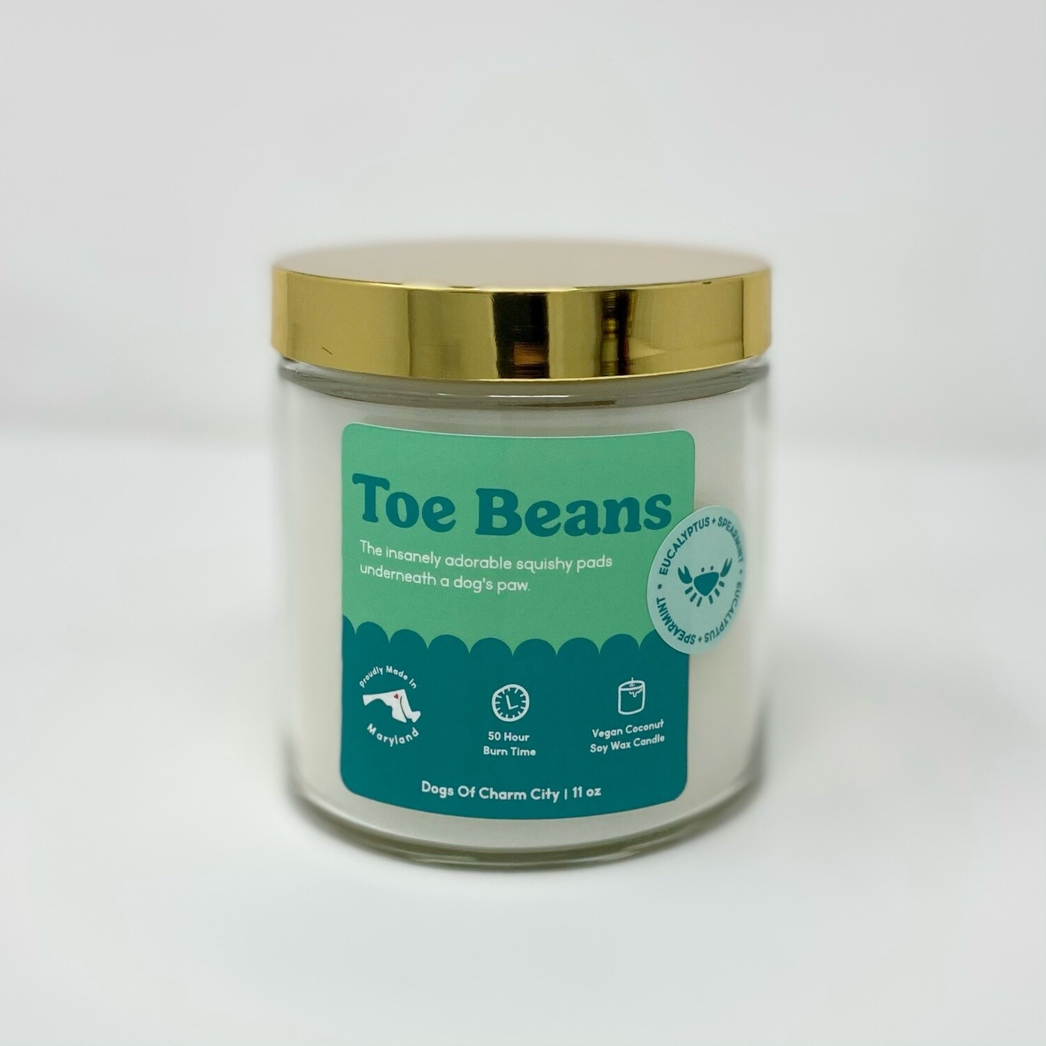 Toe Beans Candle