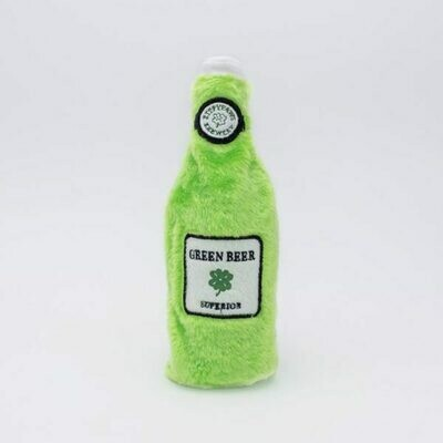 St. Pawtrick's Day Green Beer Dog Toy