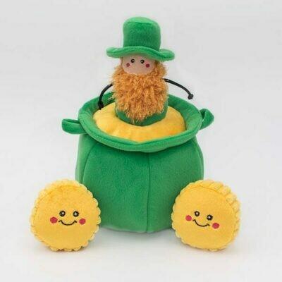 St. Pawtrick's Pot of Gold Dog Toy