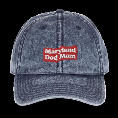 Maryland Dog Mom Denim Hat