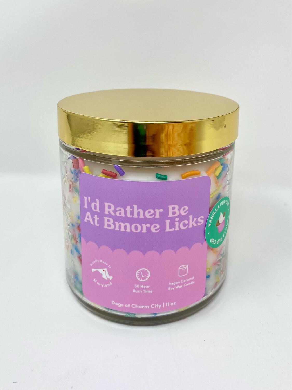 BMORE LICKS Vanilla Pup Cup Candle