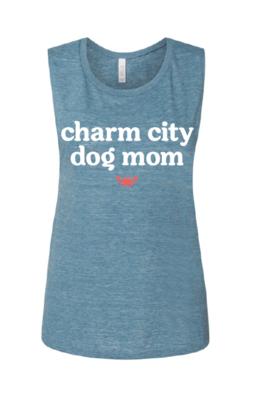 Charm City Dog Mom Flowy Tank Top