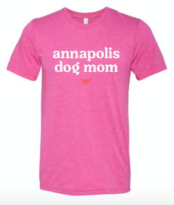 Annapolis Dog Mom Tee