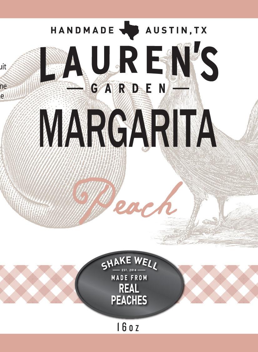 Peach Margarita Juice 16oz