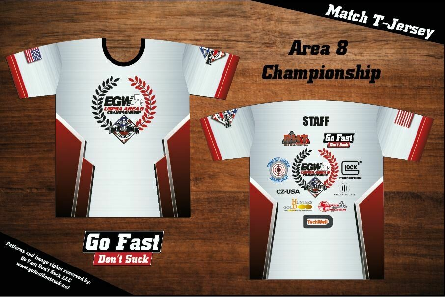 EGW Area 8 Championship - T-Jersey