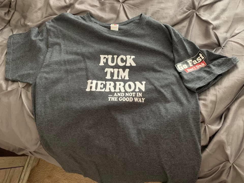 GFDS Fuck Tim Herron - T-Shirt