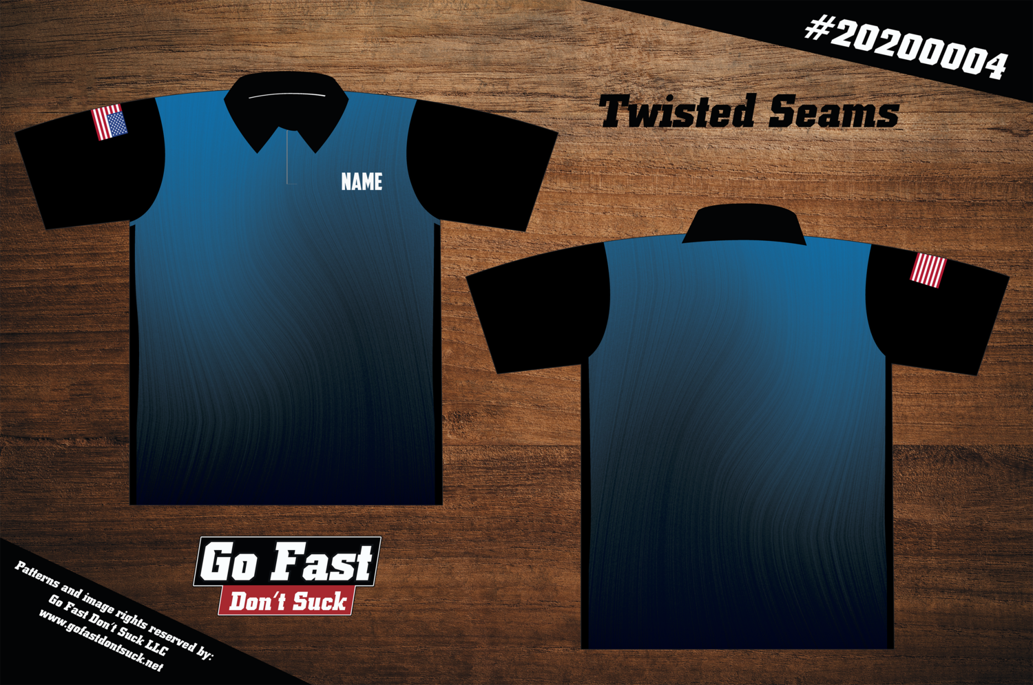 Twisted Seams - Polo Jersey