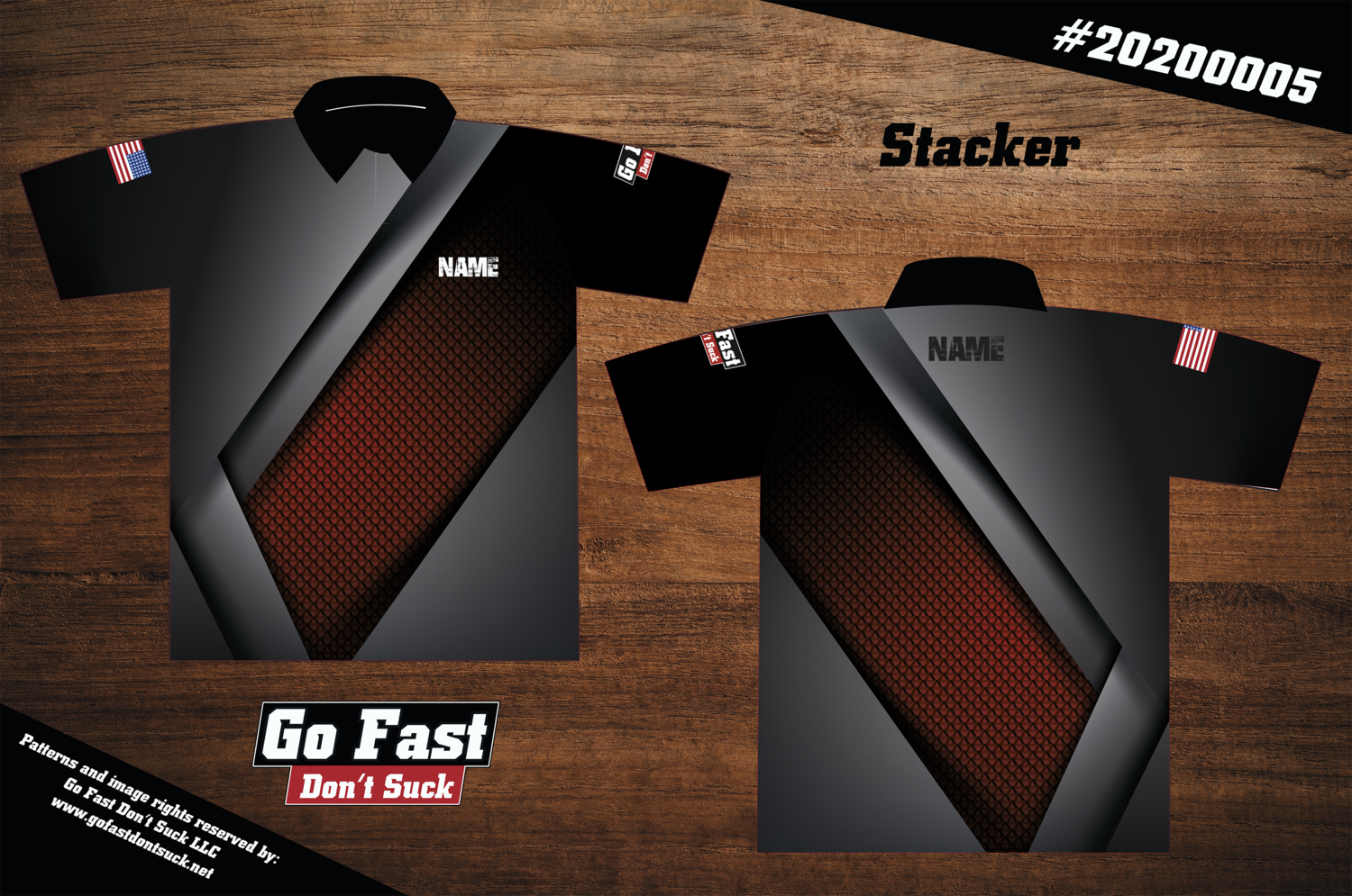 Stacker - Polo Jersey