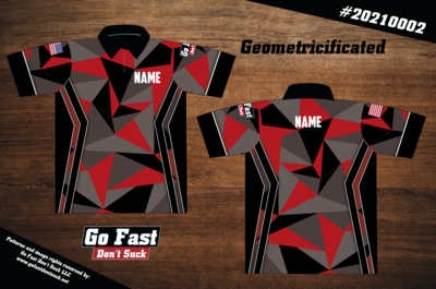 Geometricificated - Polo Jersey