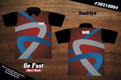 Swirlys- Polo Jersey