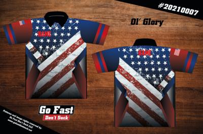 Ol'Glory - Polo Jersey
